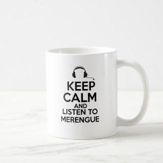 merengue design coffee mug