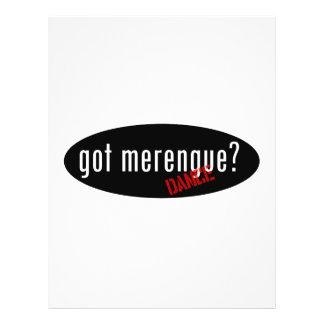 Merengue Items – got merengue Flyer