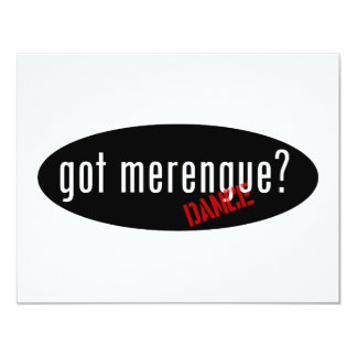 Merengue Items – got merengue 4.25x5.5 Paper Invitation Card