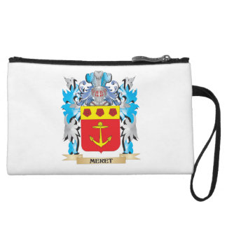 Meret Coat of Arms - Family Crest Wristlet Purses