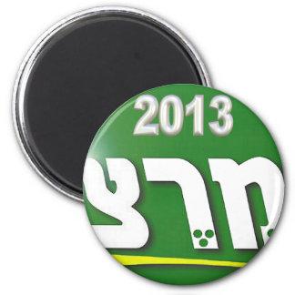 Meretz 2013 imán redondo 5 cm
