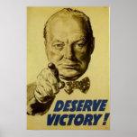 ¡Merezca la victoria! Impresiones