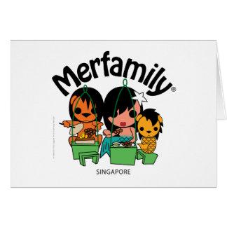 Merfamily® Singapur Satay Tarjetas
