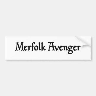 Merfolk Avenger Sticker Bumper Stickers
