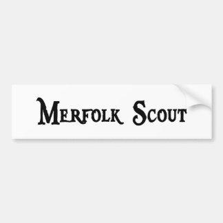 Merfolk Scout Bumper Sticker