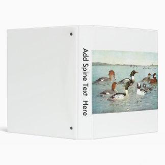 Merganser & Ruddy Duck Design Binder