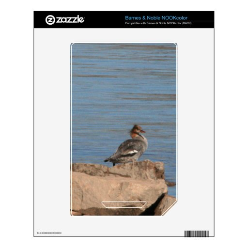 Merganser Decal For The NOOK Color