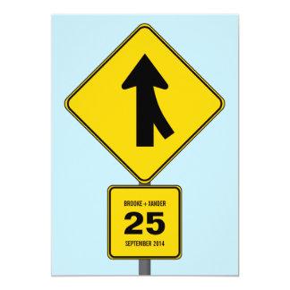 Merge Ahead Save the Date Card