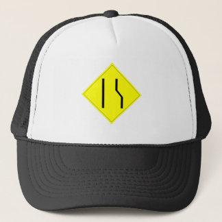 Merge Left Sign Trucker Hat