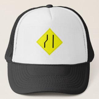 Merge Right Sign Trucker Hat