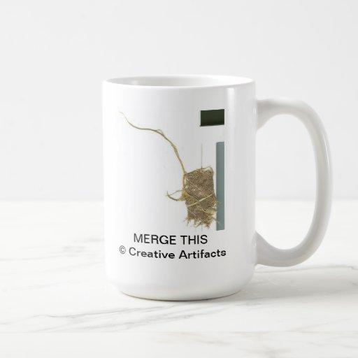 """Merge This"" coffee mug © Creative Artifacts"