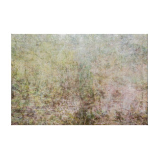 Merged photography grasses and landscape canvas print