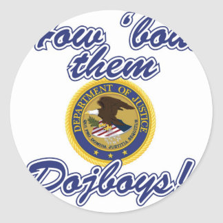 Merger Blocked - How bout them Dojboys! Classic Round Sticker