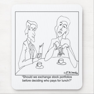 Merger or Marriage Mouse Pad