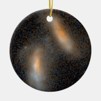 Merging Galaxies -- 2.4 Billion Light-Years Christmas Ornaments