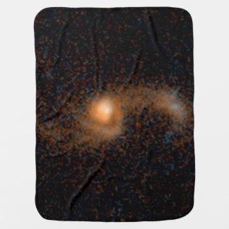 Merging Galaxies -- 5.3 Billion Light-Years Swaddle Blankets