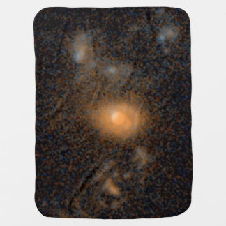 Merging Galaxies -- 6.2 Billion Light-Years from Swaddle Blanket
