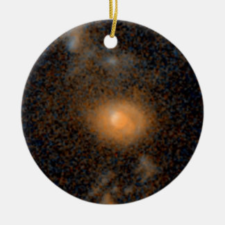 Merging Galaxies -- 6.2 Billion Light-Years Christmas Tree Ornament