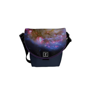 Merging Galaxies - The Antennae Galaxies Courier Bags