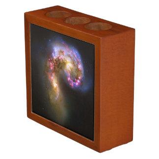 Merging Galaxies - The Antennae Galaxies picture Desk Organizer