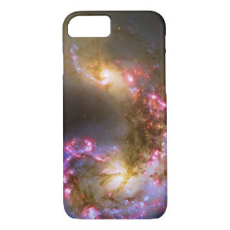 Merging Galaxies - The Antennae Galaxies picture iPhone 8/7 Case