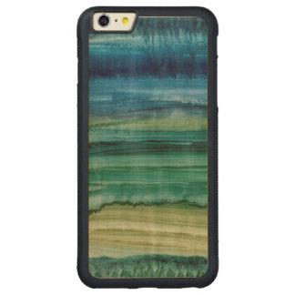 Merging IV Carved® Maple iPhone 6 Plus Bumper Case