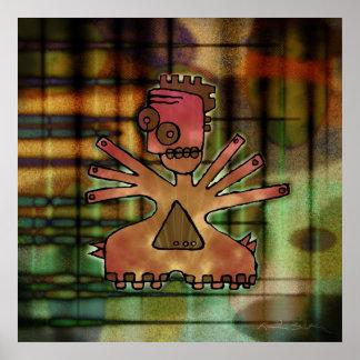 Mergon: Serie #4 del robot Posters