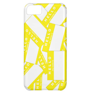 Merhabaのアイボリーの(黄色い) iPhoneの箱 iPhone 5C Case
