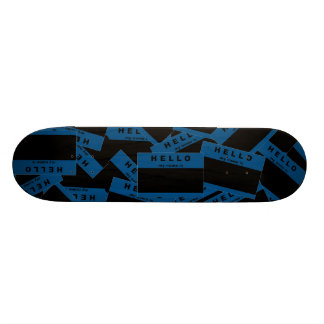 Merhaba Ebony (Blue) Skateboard Deck