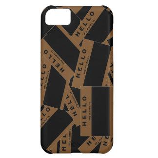 Merhaba Ebony (Brown) iPhone Case
