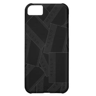 Merhaba Ebony (Charcoal) iPhone Case