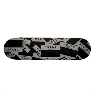 Merhaba Ebony (Grey) Skateboard Deck