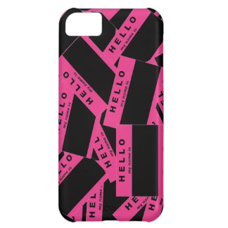 Merhaba Ebony (Magenta) iPhone Case