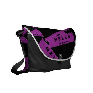 Merhaba Ebony (Purple) Messenger Bag