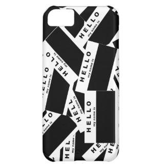 Merhaba Ebony (White) iPhone Case