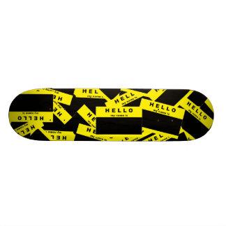 Merhaba Ebony (Yellow) Skateboard Deck