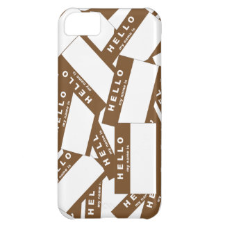 Merhaba Ivory (Brown) iPhone Case