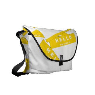 Merhaba Ivory (Gold) Messenger Bag