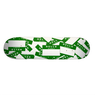 Merhaba Ivory Green Skateboard Deck
