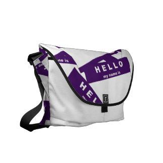 Merhaba Ivory (Indigo) Messenger Bag