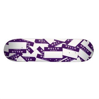 Merhaba Ivory Indigo Skateboard Deck
