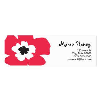 Meri Skinny Profile Card Mini Business Card