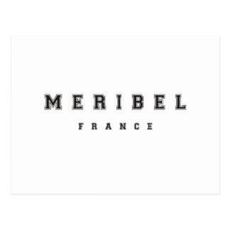 Meribel France Postcard