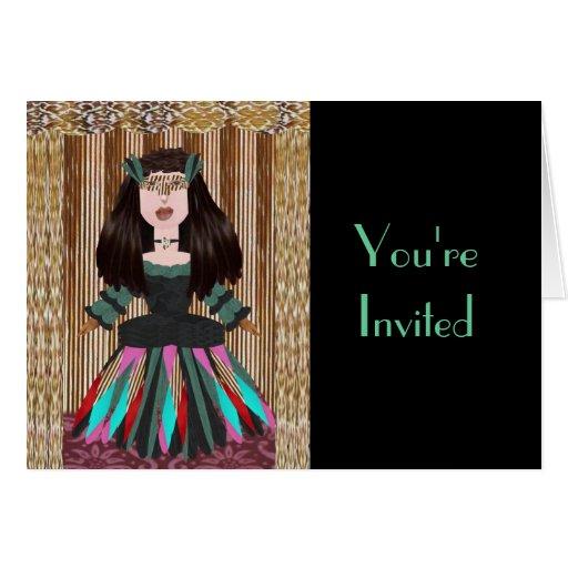 Meribelle, le invitan tarjeta de felicitación