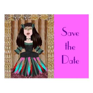 Meribelle, Save the Date Postcard