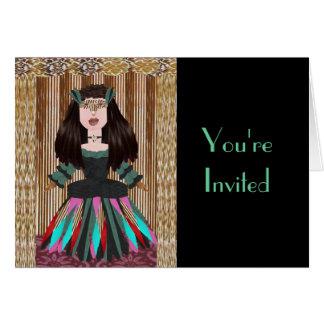 Meribelle, You're Invited Card