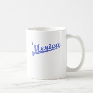 Merica 2 azul vintage