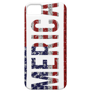 MERICA - American Pride Slang USA Flag iPhone 5 Case