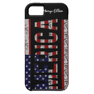 MERICA - American Pride Slang USA Flag iPhone SE/5/5s Case