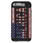 MERICA - American Pride Slang USA Flag iPhone 6 Case